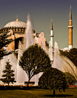 Haghia Instanbul - Sophia from the Park