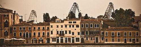 Cranes over Venice