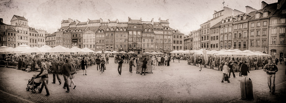 Warsaw - Old Town Warsaw Silverplate