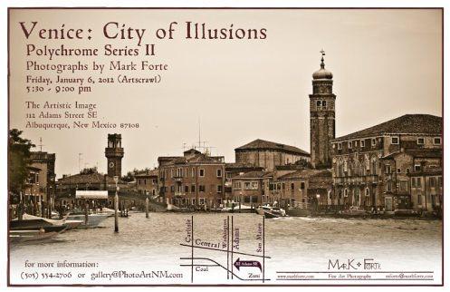 Artistic Image Venice Jan 2012 Announcement 800px
